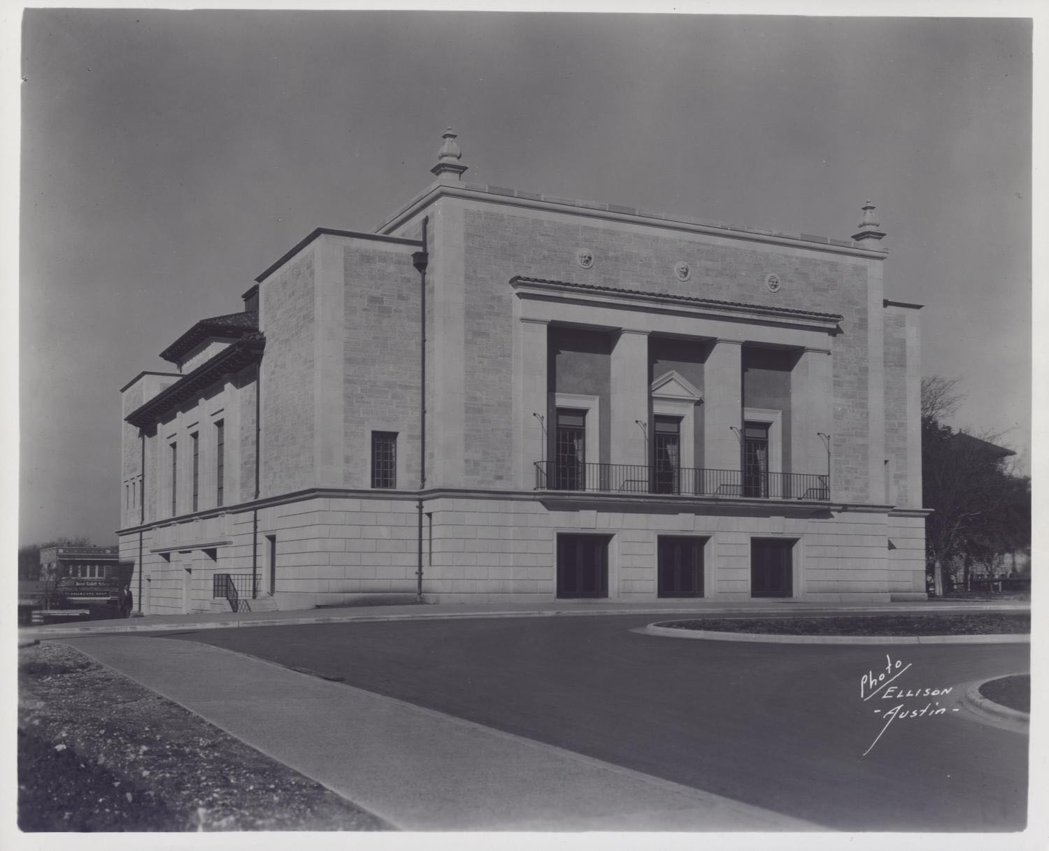 Photograph of Hogg Auditorium