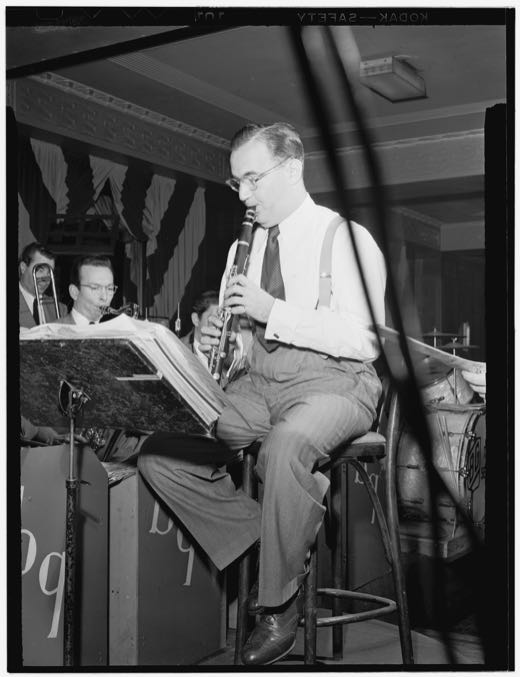 Portrait of Benny Goodman