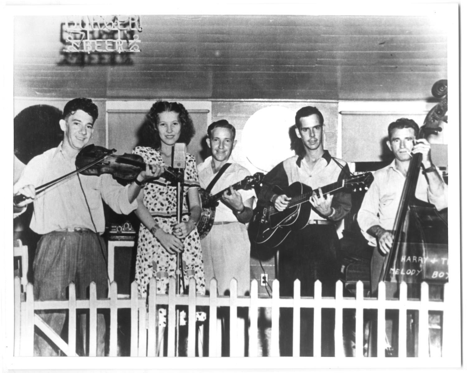 Photo of Harry Choates and his band